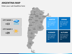 Argentina map PPT slide 18