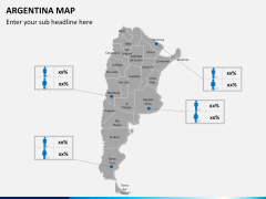 Argentina map PPT slide 19