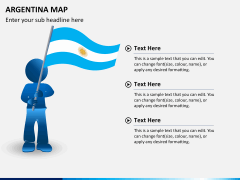 Argentina map PPT slide 23