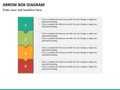 Arrow Box Diagram PPT Slide 12