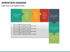 Arrow Box Diagram PPT Slide 17