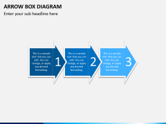 Arrow Box Diagram PPT Slide 11