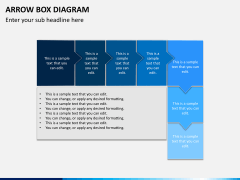 Arrow Box Diagram PPT Slide 6