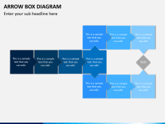 Arrow Box Diagram PPT Slide 8