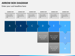 Arrow Box Diagram PPT Slide 9