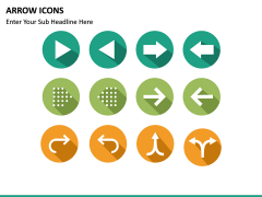 Arrow Icons PPT slide 9
