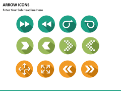 Arrow Icons PPT slide 10