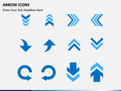 Arrow Icons PPT slide 1