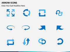Arrow Icons PPT slide 3