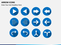 Arrow Icons PPT slide 4