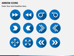 Arrow Icons PPT slide 5