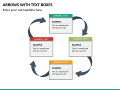 Arrows and Text Boxes PPT Slide 20