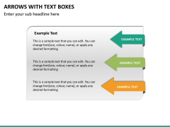 Arrows and Text Boxes PPT Slide 11