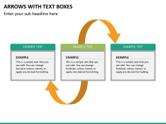 Arrows and Text Boxes PPT Slide 16