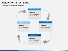 Arrows and Text Boxes PPT Slide 10