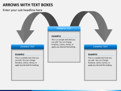 Arrows and Text Boxes PPT Slide 4
