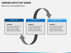 Arrows and Text Boxes PPT Slide 6