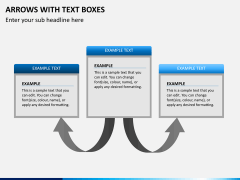 Arrows and Text Boxes PPT Slide 7