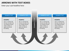Arrows and Text Boxes PPT Slide 8