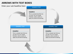 Arrows and Text Boxes PPT Slide 9