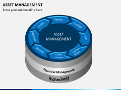 Asset management PPT slide 1