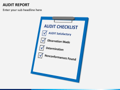 Audit Report PPT Slide 7