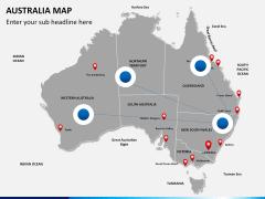 Australia Map Italy Map 4