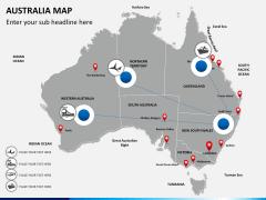 Australia Map Italy Map 5