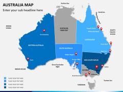 Australia Map Italy Map 8