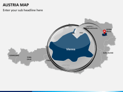 Austria Map PPT slide 12