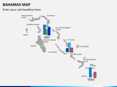 Bahamas map PPT slide 12