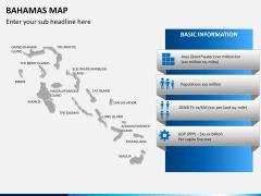 Bahamas map PPT slide 13