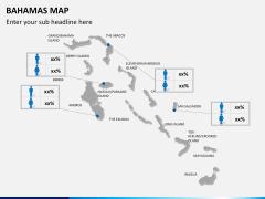 Bahamas map PPT slide 14