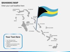 Bahamas map PPT slide 16