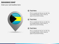 Bahamas map PPT slide 18