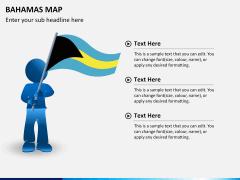 Bahamas map PPT slide 19