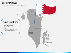Bahrain map PPT slide 21