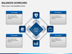 Balanced scorecard PPT slide 1