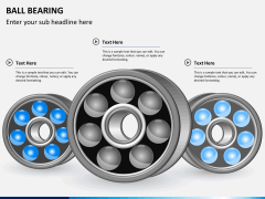 Ball bearing PPT slide 1