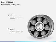 Ball bearing PPT slide 3
