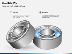 Ball bearing PPT slide 4