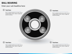 Ball bearing PPT slide 6