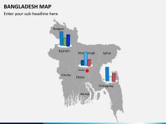 Bangladesh map PPT slide 14