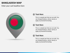 Bangladesh map PPT slide 15