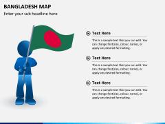 Bangladesh map PPT slide 16