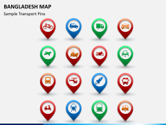 Bangladesh map PPT slide 18