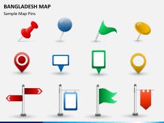 Bangladesh map PPT slide 19