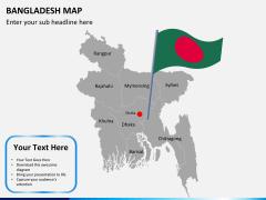 Bangladesh map PPT slide 7