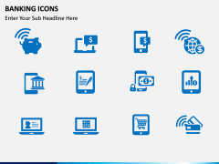 Banking Icons PPT slide 2