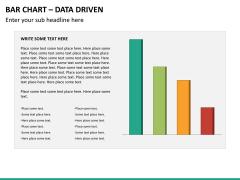 Bar chart PPT slide 15